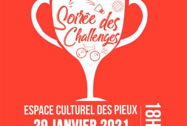 27ème Soirée des Challenges Sportifs – 29 janvier 2021 (ANNULE)