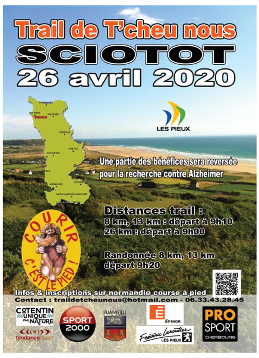 Trail de T'cheu Nous – 26 avril 2020