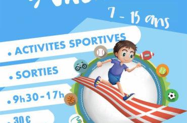 Sport Vacances Automne 2021 – 26 octobre au 05 novembre 2021