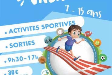 Sport Vacances Eté 2021 – 5 juillet au 27 août 2021