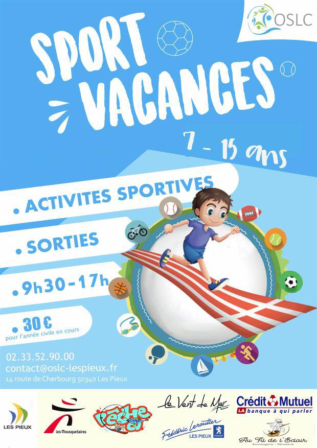 Sport Vacances Printemps 2021 – 26 avril au 7 mai 2021