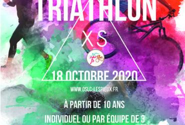 15ème Triathlon XS des Pieux – 18 octobre 2020