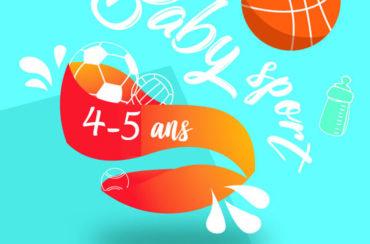 """Baby-sport: une matinée """"Portes ouvertes"""" le 2 septembre pour lancer la saison"""