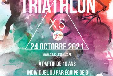 15ème Triathlon XS – 24 octobre 2021